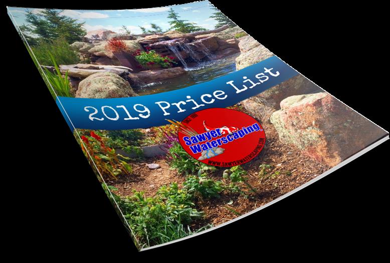 2019 Price List Thumbnail